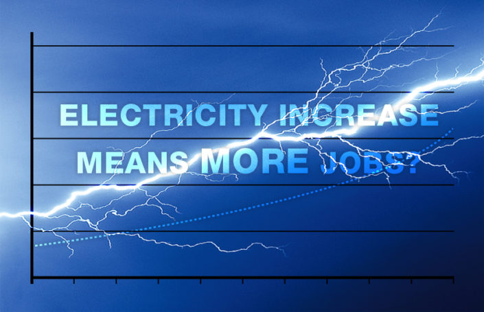 Electricity hike means more jobs?